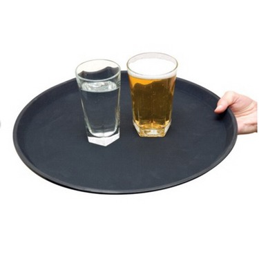 non-slip bar tray large