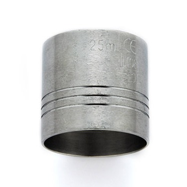 Metal measure 25ml