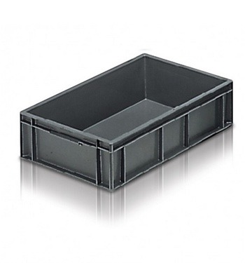 ice bin grey shallow