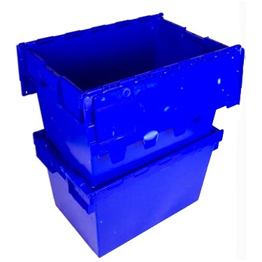 Ice Bin Blue Oblong Small Nesting Flip