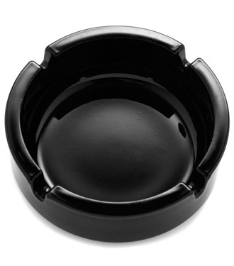 ashtray black
