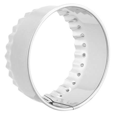 pastry cooker cookie cutter fluted