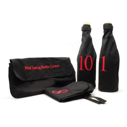 Blind tasting bottle covers