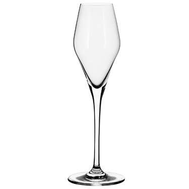 Champagne Glass Curved Crystal – In Vino