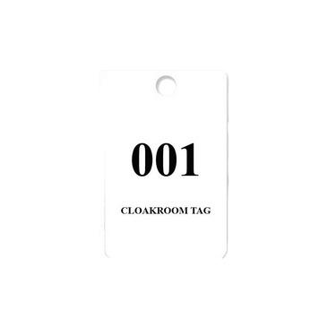 cloakroom tag