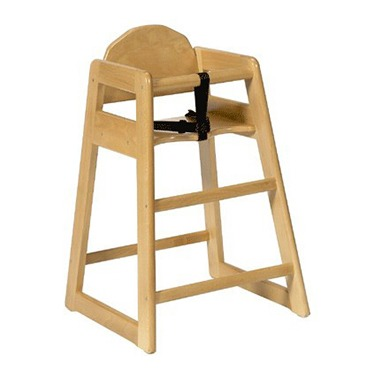 High Chair Wooden