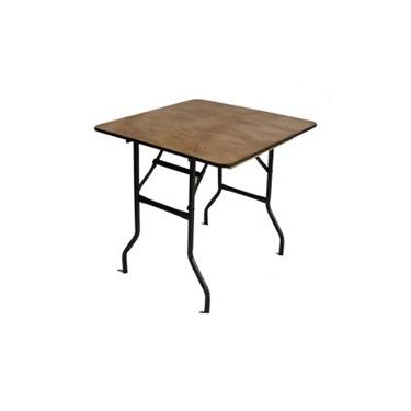 Trestle Table 2.5ft Square