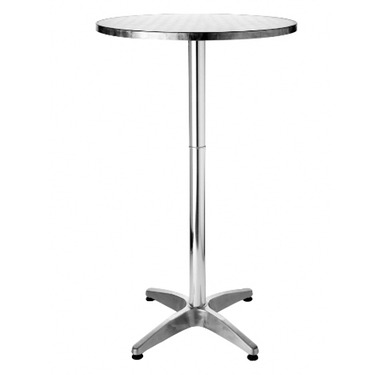 Aluminium Poseur Tables
