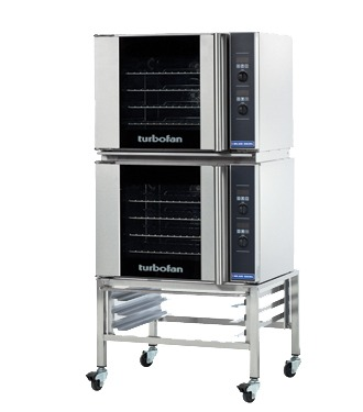 Double Turbo Fan Oven with Stand