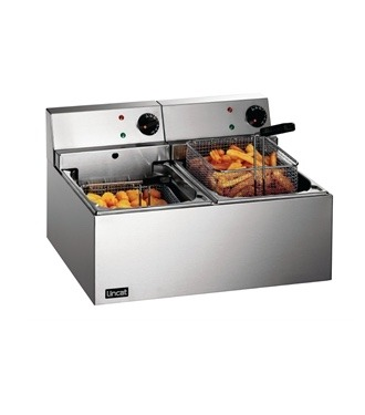deep fat fryer double 4 litre