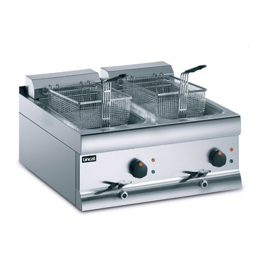 deep fat fryer double 9 litres