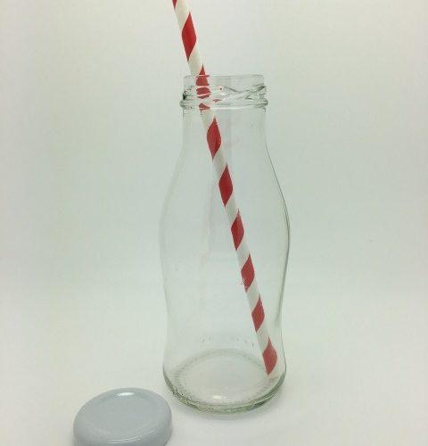 Mini milk bottle 250ml