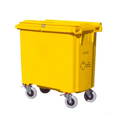 Recycling wheelie bin 770 litre