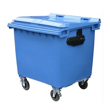 recycling wheelie bin 1,100 litres