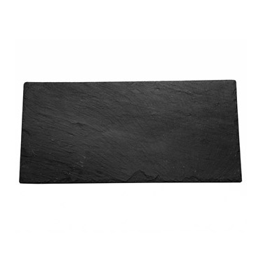 Canapé Tray Rectangle Slate Large
