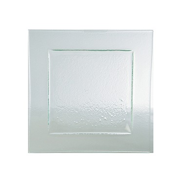 Canape Tray Rectangle Glass