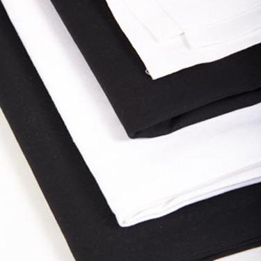 linen white black