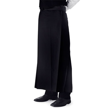 Bar Apron Long Black