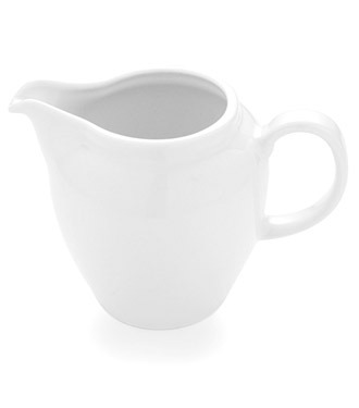 Cream or Milk Jug Classic White