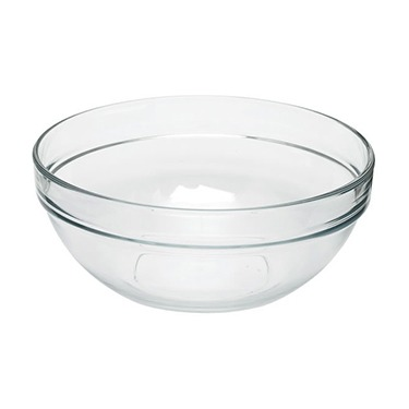 Glass bowl 30cm