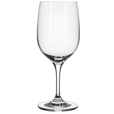 Universal wine glass crystal in vino