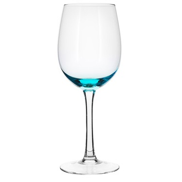 Water Glass Blue Tinted