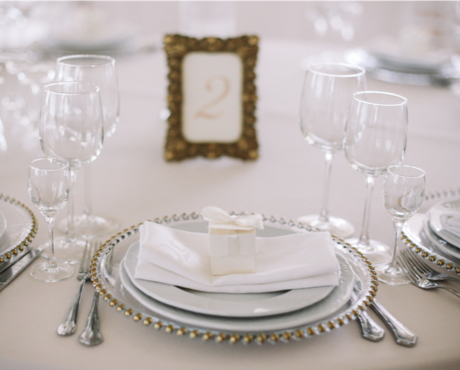 crockery and glassware